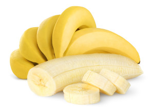 Bananas. 7 Foods that help you lose waist inches fast