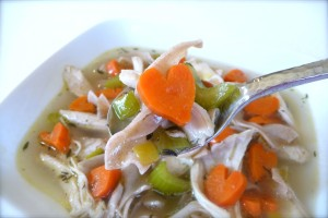 Chicken-Soup is a superfood to boost your immune system
