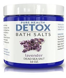 Detox Bath Salts. Special Blend of Dead Sea Salt, Lavender, and Coconut Oil.