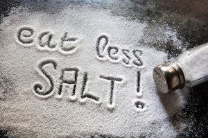 Eat Less Salt. How to combat the reasons why you don't lose belly fat