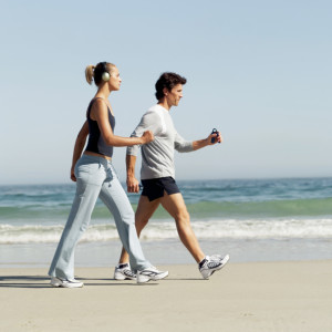 Walking is the best. The very best way to lose weight and keep it off forever