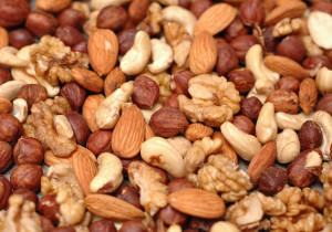 Nuts. Top 6 Workout Recovery Foods
